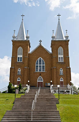 Modern Man Surf - St Marys church in Wilno Ontario Canada by Marek Poplawski
