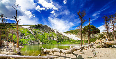 Beauty Mark Photograph - St. Mary's Glacier by Mark Andrew Thomas