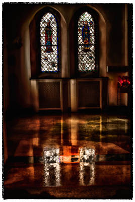 Photograph - St Mary's Hallway by Kimberleigh Ladd