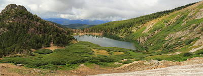 Photograph - St. Mary's Lake Panorama by Scott Rackers