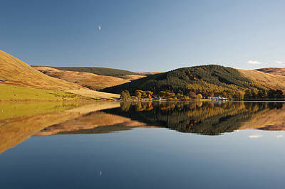 Border Reivers Photograph - St Marys Loch by Brian Dingle