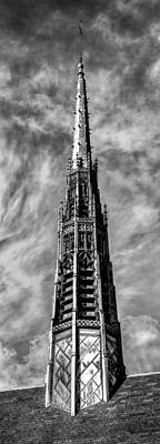Surrealism Royalty-Free and Rights-Managed Images - St. Marys Spire by Bob Orsillo