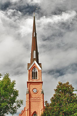 Photograph - St Matthews Church In Charleston by Gary Slawsky