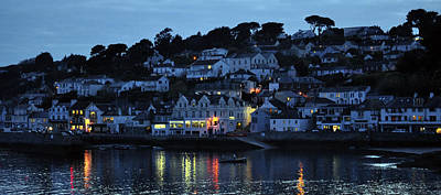 Photograph - St Mawes A Summers Sunset by Ian Cocklin