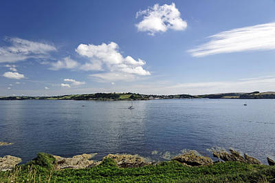 St Mawes From Pendennis Point Art Print by Rod Johnson