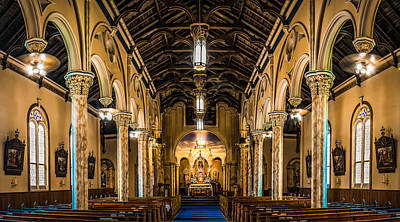 Photograph - St. Michael The Archangel Church by Andy Crawford