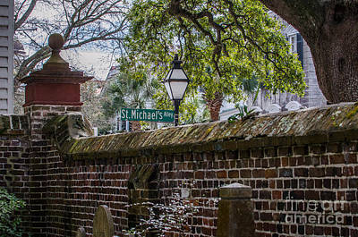 Photograph - St. Michaels Alley by Dale Powell
