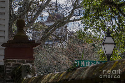 Photograph - St. Michaels Alley In Charleston by Dale Powell