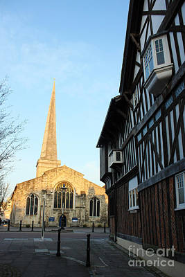 Photograph - St Michael's Church And Tudor House Southampton by Terri Waters