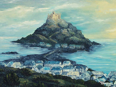 Painting - St. Michael's Mount by Terry Albert