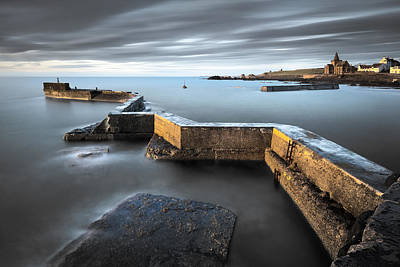 St Monans Dawn Art Print by Dave Bowman