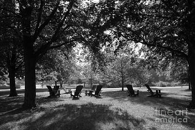 Photograph - St. Olaf College Adirondacks On The Quad by University Icons