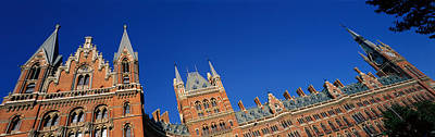 St Pancras Railway Station London Art Print by Panoramic Images