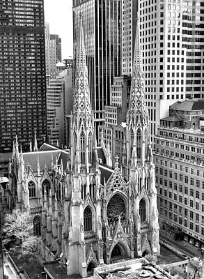 Photograph - St. Patrick's Cathedral by Robert Meyers-Lussier