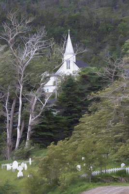 Church On The Hill Photograph - St. Patrick's Church by Patsy Zedar