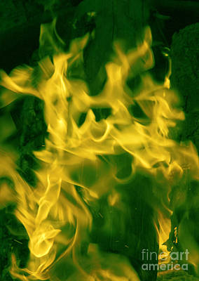 Photograph - St Patricks Day Fire by Glenn Gordon