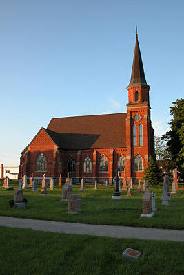 Photograph - St Patrick's Roman Catholic Church Phelpston Ontario by John Jacquemain