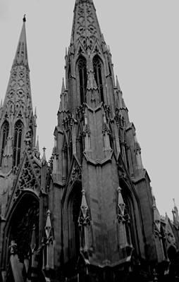 Photograph - St. Patrick's Steeples by John Schneider