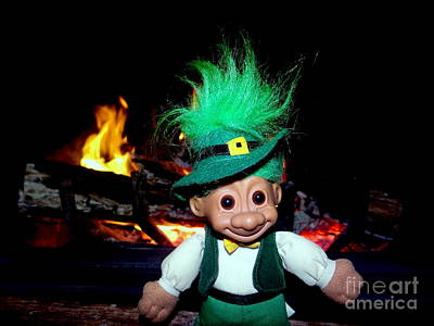 Photograph - St Patrick's Troll by Ed Weidman
