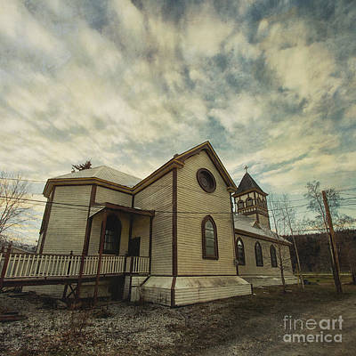 Historic Site Photograph - St. Pauls Anglican Church by Priska Wettstein