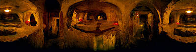 Rabat Photograph - St. Pauls Catacombs, Rabat, Malta by Panoramic Images