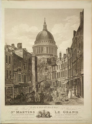 St Pauls Cathedral Photograph - St. Paul's Cathedral by British Library