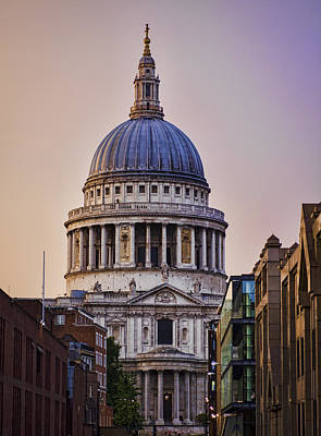 Photograph - St Pauls Cathedral by Heather Applegate