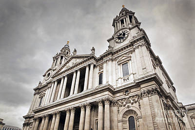 Historical Photograph - St Pauls Cathedral In London Uk by Michal Bednarek