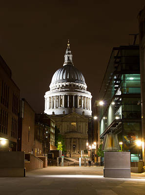 Photograph - St. Paul's Cathedral by Leah Palmer