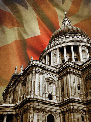 St Pauls London Photograph - St Paul's Cathedral by Mark Rogan