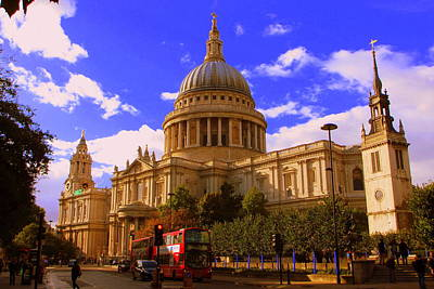 St Pauls Catherdral Art Print by Donald Turner