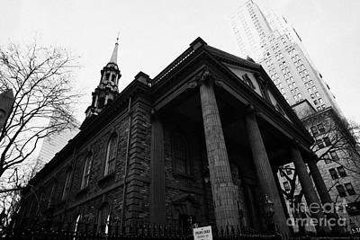 St Pauls Chapel Ground Zero New York City Art Print by Joe Fox