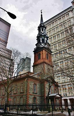 Photograph - St. Paul's Church New York City by Bruce Bley