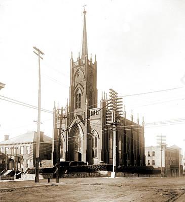 St Paul Drawing - St. Pauls Church, Vicksburg, St. Pauls Church Vicksburg by Litz Collection