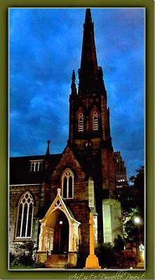 St. Paul's Presbyterian Church Front View Art Print by Danielle  Parent