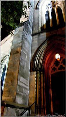 St. Paul's Presbyterian Church Hamilton Ontario  Canada Front View Art Print by Danielle  Parent