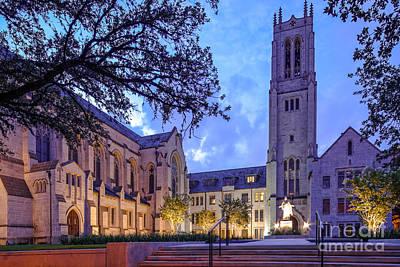 Contemporary Art Museum Photograph - St. Paul's United Methodist Church - Houston Texas by Silvio Ligutti
