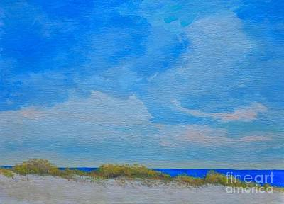 Painting - St. Pete Beach Spring by Gail Kent