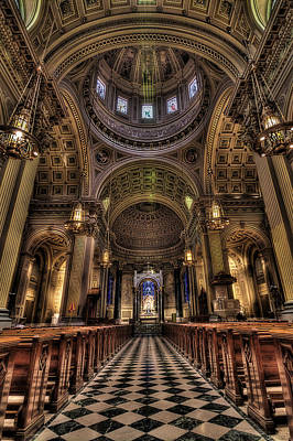 St. Peter And Paul Cathedral Art Print by Kim Zier