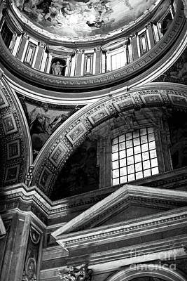 Photograph - St. Peters Arcs And Angles by John Rizzuto