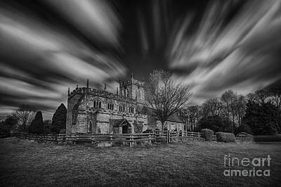 Infra-red Photograph - St Peter's At Wootton Wawen by Nigel Jones