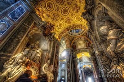 Photograph - St Peter's Basilica 2.0 by Yhun Suarez