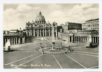 Vatican Photograph - St Peter's Basilica by Alan Paul