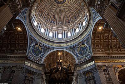 St. Peters Basilica Art Print by Corey Sheehan