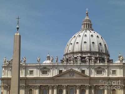 Photograph - St. Peter's Basilica by Deborah Smolinske