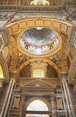 Painting - St Peter's Basilica by Louise Fahy