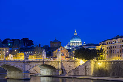 St. Peter_s Basilica_ Rome, Lazio, Italy Art Print by Mats Silvan