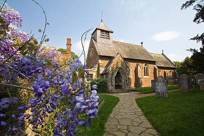 Photograph - St Peters Church  Hambledon by Shirley Mitchell
