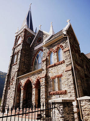 Photograph - St Peters Church In Harpers Ferry by Patricia Januszkiewicz