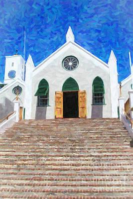 Art Print featuring the photograph St. Peter's Church  by Verena Matthew